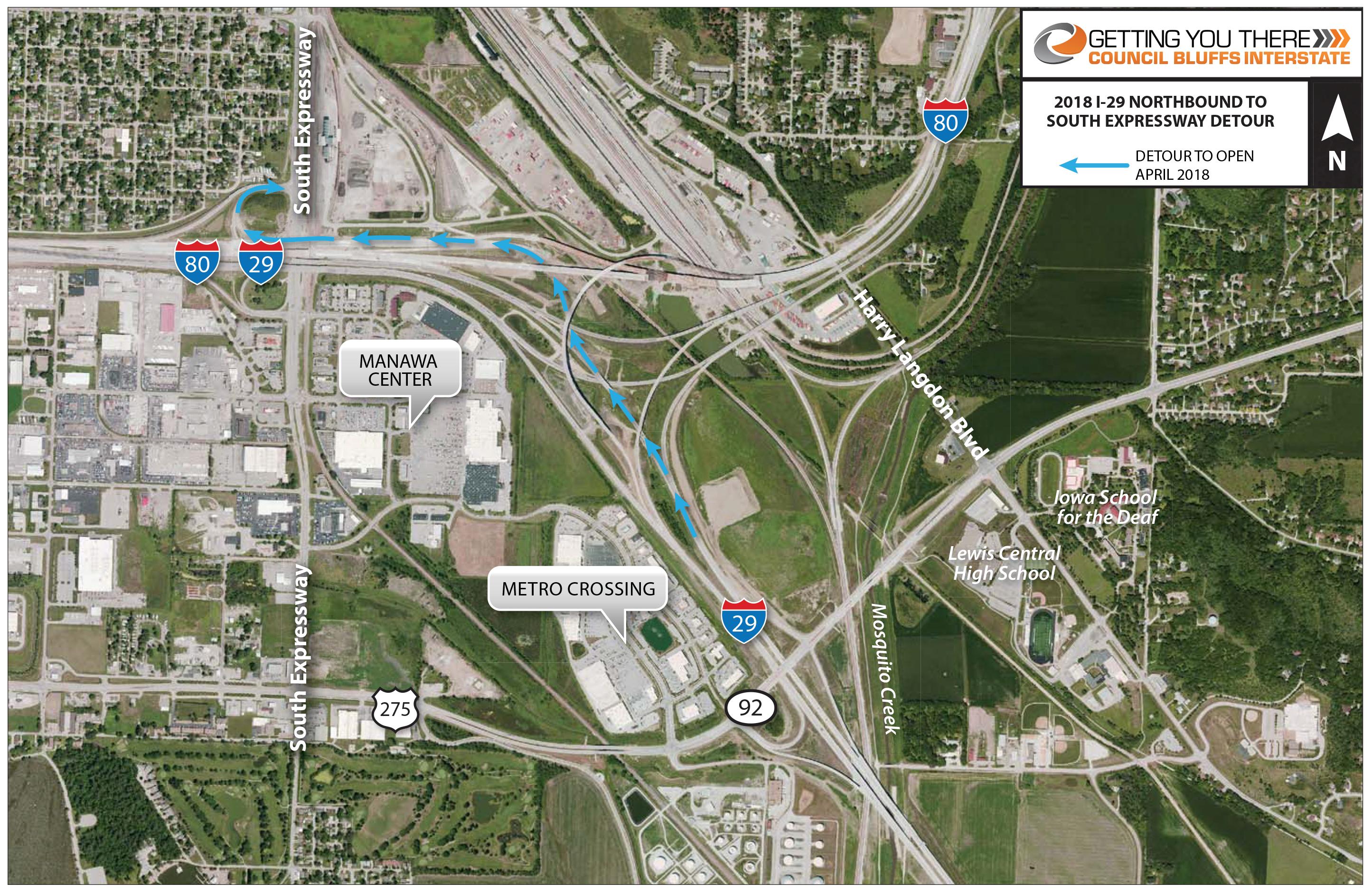 Council Bluffs Interstate :: Traveler Info