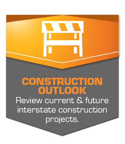Construction Outlook - Review current & future interstate construction projects in the Council Bluffs area.